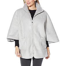 Laurier Reversible Poncho Coat