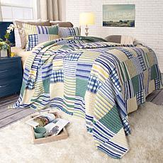 Lavish Home 2-piece Lynsey Quilt Set - Twin