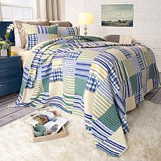 Lavish Home 2-piece Lynsey Quilt Set - Twin
