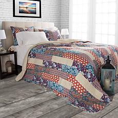 Lavish Home 3pc Santa Fe Quilt Set - Full/Queen