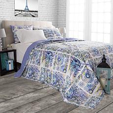 Lavish Home Melody 2-piece Quilt Set  - King