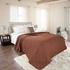 Lavish Home Solid Color Bed Quilt -  Full/Queen