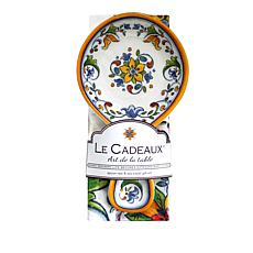 Le Cadeaux Capri Spoon Rest and Tea Towel Set