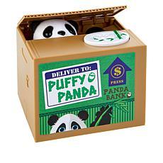 Leading Edge Animatronic Panda Coin Bank