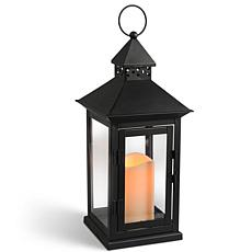 "LED 15""H Metal Outdoor Lantern"