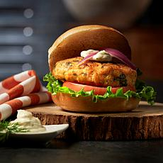 Legal Sea Foods Salmon Burger 24-count