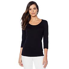 Lemon Way Perfect Pima 3/4-Sleeve Tee - Basic