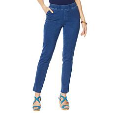 Lemon Way Wonder Stretch Knit Denim Straight Jean
