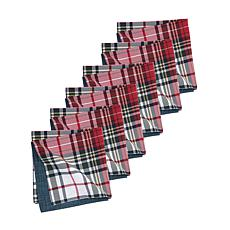 Lennox Plaid Napkin Set of 6