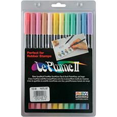 LePlume II Marker Set - 12 Assorted Pastel Colors