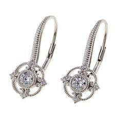 Leslie Greene 0.38ctw Cubic Zirconia Round Drop Earrings