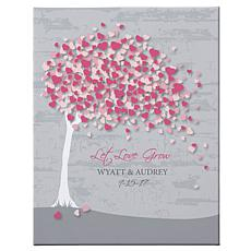 Let Love Grow Canvas - 11x14