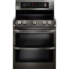 LG 7.3cf Double Oven w/Infrared Grill - Black Stainless