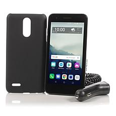 """LG Rebel 4 5"""" HD 16GB Tracfone with 1200 Minutes/Text/Data"""