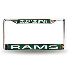 License Plate Frame - Colorado State University