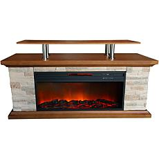 "Lifesmart 60"" Media Fireplace"