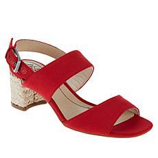 LifeStride Caldwell Woven-Wrap Block-Heel Sandal