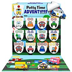 Lil Advents Potty Time ADVENTures Potty Training Game - Busy Vehicles