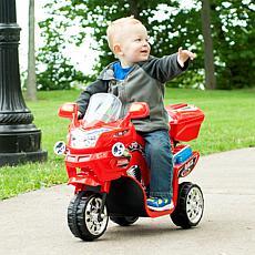 Lil' Rider 3-Wheel Battery-Powered FX Sport Bike - Red