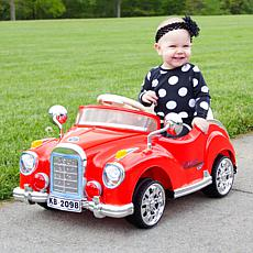 Lil' Rider Battery-Operated Classic Car with Remote
