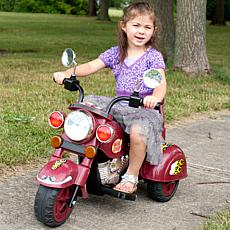 Lil' Rider™ Maroon Marauder Motorcycle - Three Wheeler