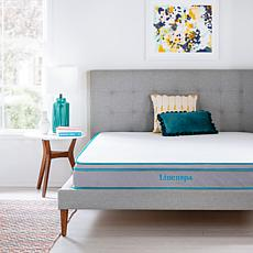 "Linenspa Essentials 8"" Gel Memory Foam Hybrid Mattress - Full"