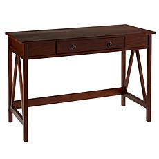 Linon Home Thomas Desk - Antique Tobacco