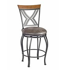 Linon Home Tucker Counter Stool - Brown