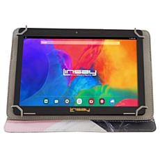 LINSAY 32GB IPS Tablet with Android 10 and Protective Case