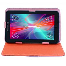 """LINSAY 7"""" 16GB Android 10 Tablet with Protective Case"""
