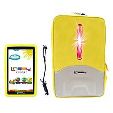"LINSAY 7"" 16GB Kids Tablet Android 10 with Backpack"
