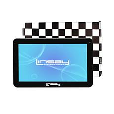 LINSAY Android Tablet with Square Protective Case