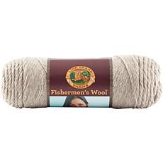 Lion Brand Fishermen's Wool Yarn - Oatmeal