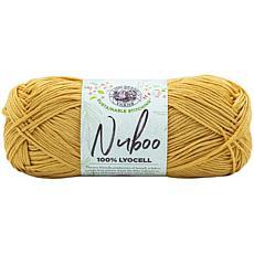 Lion Brand Nuboo Yarn - Goldenrod