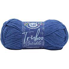 Lion Brand Truboo Sparkle Yarn - Night Sky
