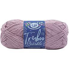 Lion Brand Truboo Sparkle Yarn - Truffle