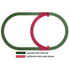 Lionel Trains Inner Loop Add-On O-Gauge Track Pack
