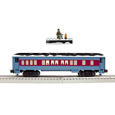 Lionel Trains WarnerBrothers Polar Express Disappearing Hobo Train Car