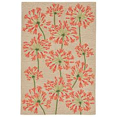 Liora Manne Desert Lily Rug - Apricot - 2' x 3'