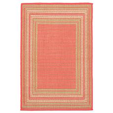 "Liora Manne Etched Border Rug - Sunset - 23"" x 35"""
