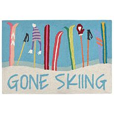 "Liora Manne Frontporch Gone Skiing Rug - 20"" x 30"""