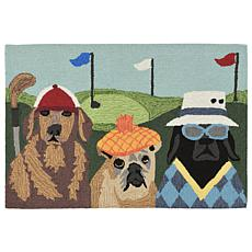 "Liora Manne Frontporch Putts & Mutts Rug - 24"" x 36"""
