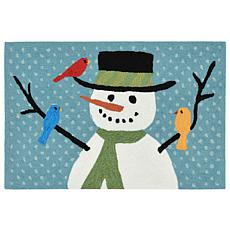 "Liora Manne Snowman And Friends Rug - 20"" x 30"""