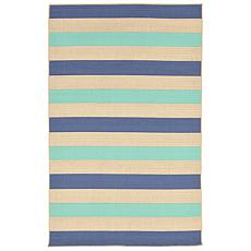 "Liora Manne Terrace Multi Stripe Rug - Aquarius - 23"" x"