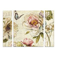 "Lisa Audit ""Marche de Fleurs IV"" Multi-Panel Art Set - 24"" x 32"""