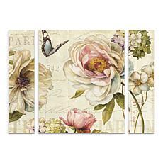 """Lisa Audit """"Marche de Fleurs IV"""" Panel Art - 24"""" x 32"""""""