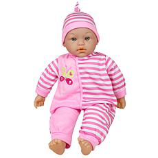 "Lissi Doll 16"" Talking Baby Doll - Pink"