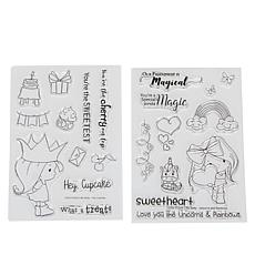 Little Darlings Little Betty Birthday Stamp Set