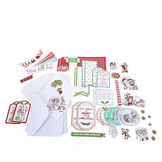 Little Darlings Winnie's White Christmas Card Kit