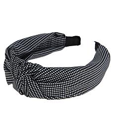 Locks & Mane Gingham Knotted Headband